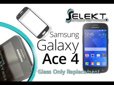 Samsung Galaxy Ace 4 (SM-G357FZ) Glass Only Replacement / Wymiana szybki | Selekt