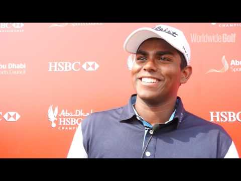 Rayhan Thomas delighted with opening round at Abu Dhabi HSBC Championship
