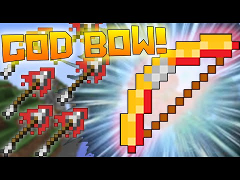 UNSTOPPABLE POWER 5 GOD BOW!! ( Minecraft TEAM SKYWARS w/ TheCampingRusher )