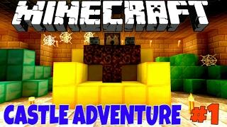 Castle Adventure! Приключения в Замке #1 [Прохождение Карты] - Minecraft PE Без Мата 🌡