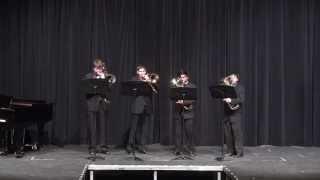 Verhelst: A Song for Japan (trombone/euphonium quartet)