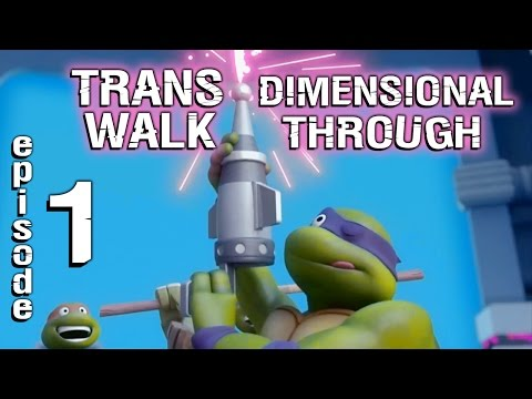TMNT Legends Trans-Dimensional walkthrough: Chapters 1-2. Gameplay 2017