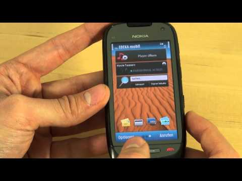 Nokia C7 Test Bedienung