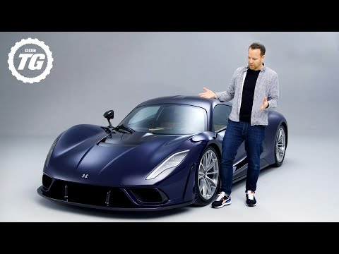FIRST LOOK: Hennessey Venom F5: 1,817bhp, 311mph. Is this the next world's fastest car? | Top Gear