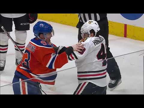 NHL Fights By Players Who Don't Usaully Fight