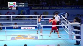 Men's Fly (52kg) - Final - Jasurbe LATIPOV (UZB) vs Misha ALOIAN (RUS)