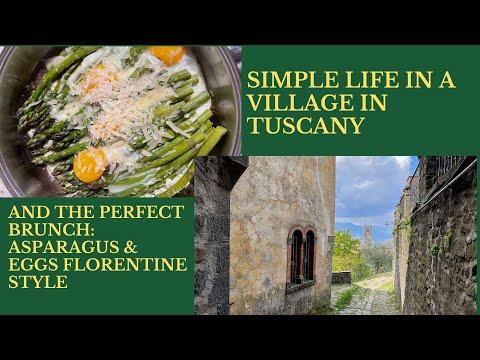 asparagus florentine