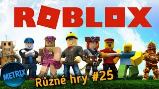 Miscellaneous Games #25 | ROBLOX | Let's play CZ/English:D