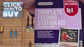 B&q Gardman Feeding Station Kit