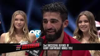 GLORY 73: Marat Grigorian post-fight interview
