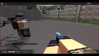 CHEATER IN Counter Blox Roblox Offensive