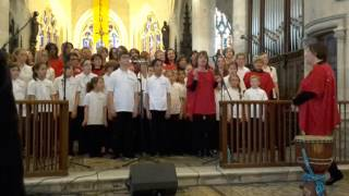 Give us peace chorale Airs du Temps et Gospel Together Eglise Pont l'Evêque 24/04/2016