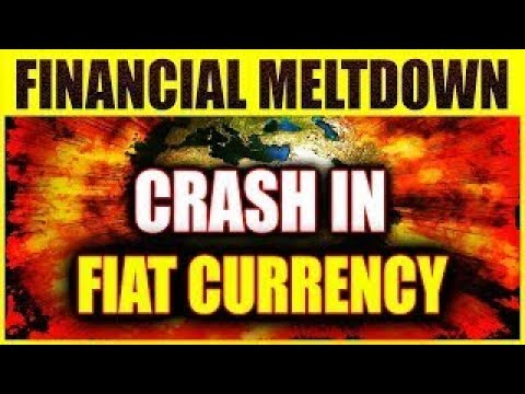 Financial Crisis Signals Continue Increasingly Crash in Fiat currency