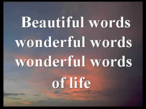 Hymn - Wonderful Words of Life - all vss - pg 222.wmv