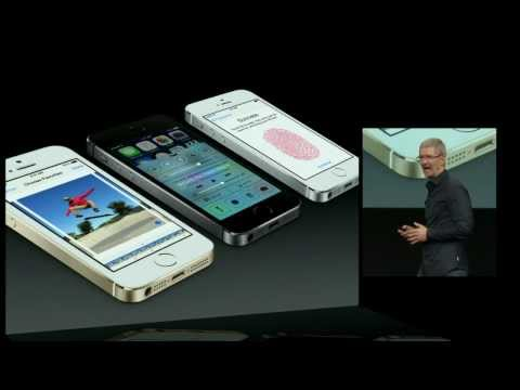 Full Apple September 10 iPhone 5S Presentation