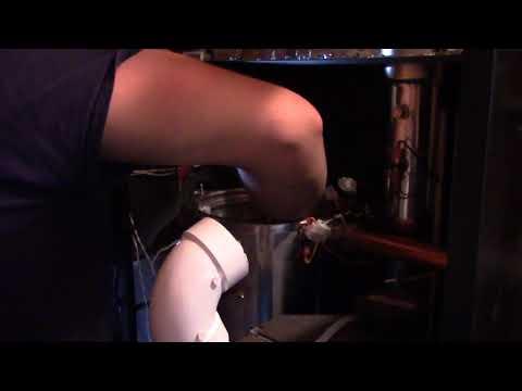 Servicing IBC Boiler