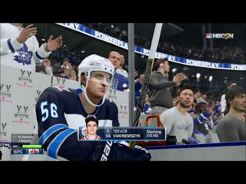 NHL 18: Toronto Maple Leafs - Winnipeg Jets | 2020-21