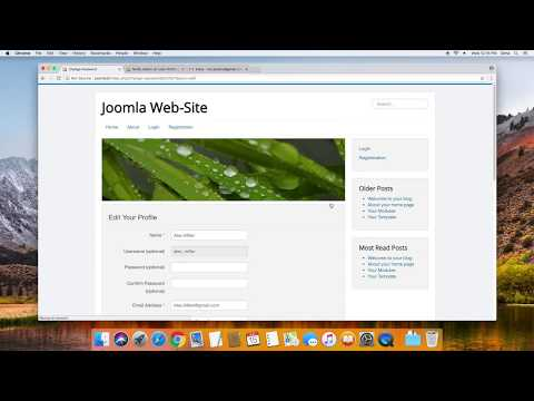 Joomla - Notify Admin on User Profile Update/Edit