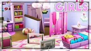 The Sims 4 | Room Build | Kids Room Stuff // Girls Room