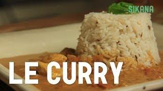 le poulet au curry coco - recette simple et rapide - HD