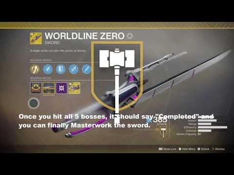 Destiny 2: Worldline Zero Masterwork!!! Is It Worth It?