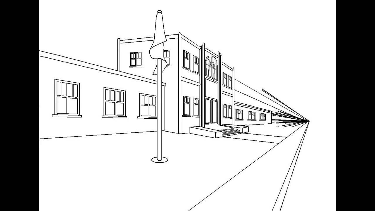 How To Draw Springfield Elementary School with Microsoft ...