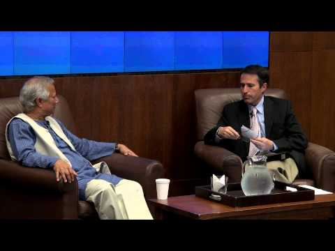 University of Toronto: Muhammad Yunus in conversation with John Stackhouse