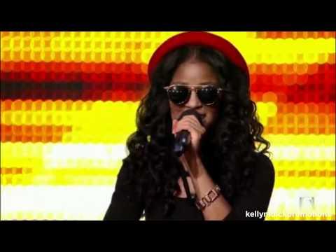 Simone Battle  The X Factor U.S.  Bootcamp Day 4