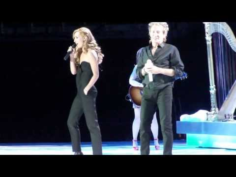 ROD & RUBY STEWART - FOREVER YOUNG - live - O2 -21-09-13