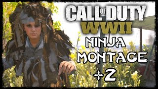 Call of Duty: WW2 - Ninja Montage #2 (Funny Moments, Ninja Defuse & Knife Feeds)!
