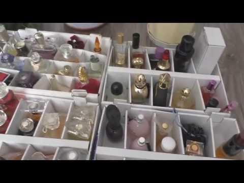 Парфюмерный порядок в коробках