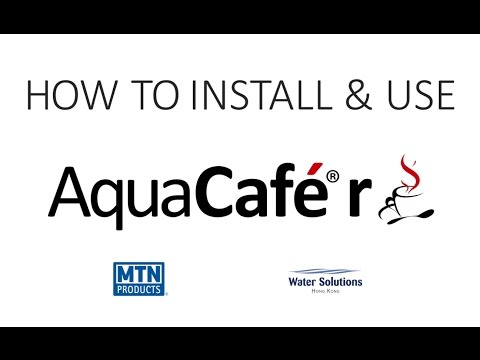 MTN Aquacafe R How to Install Use v3 x2