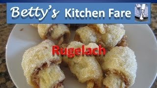 How To Make Betty's Rugelach (apricot And Raspberry Pastries).mpg