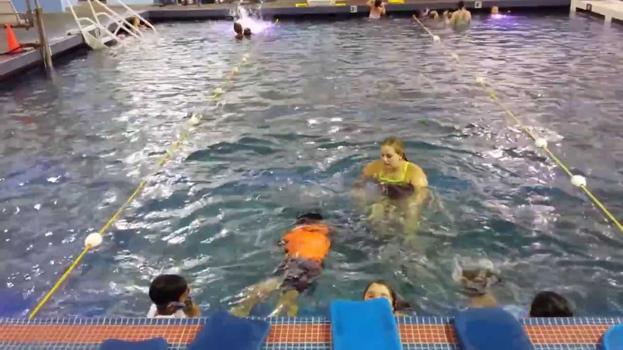 Zonak swimming class at covington aquatic center youtube - Valley center swimming pool hours ...