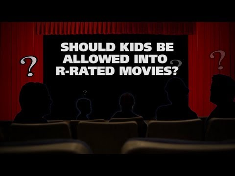Should Kids Be Allowed Into R-Rated Movies? - The (Movie) Question
