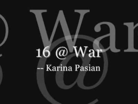 Karina- 16 @ War With Lyrics - YouTube
