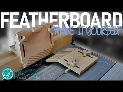 DIY featherboard | how to make a fingerboard for a table saw | Building my workshop - Episode 6