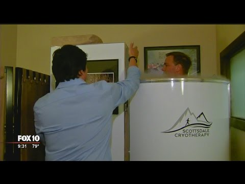 Cryotherapy; popular therapy uses extreme cold to heal