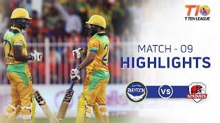 Match 9, Sindhis vs Pakhtoon, T10 League Season 2