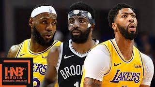 Los Angeles Lakers vs Brooklyn Nets - Full Game Highlights | October 10, 2019 NBA Preseason