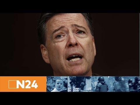 Schicksalstag für Trump: Ex-FBI-Chef Comey sagt über Gespräche mit US-Präsidenten aus