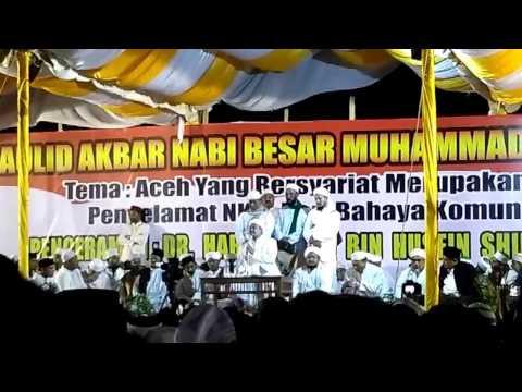 Menggetarkan!! Ceramah Habib Rizieq di Aceh 26/12/2016