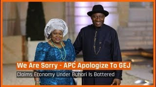 Nigeria News Today: APC Chieftain Apologises To Goodluck Jonathan (21/05/2018)