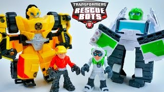 TRANSFORMERS RESCUE BOTS BUMBLEBEE BOULDER TALON EAGLE HUNTER LION BOT