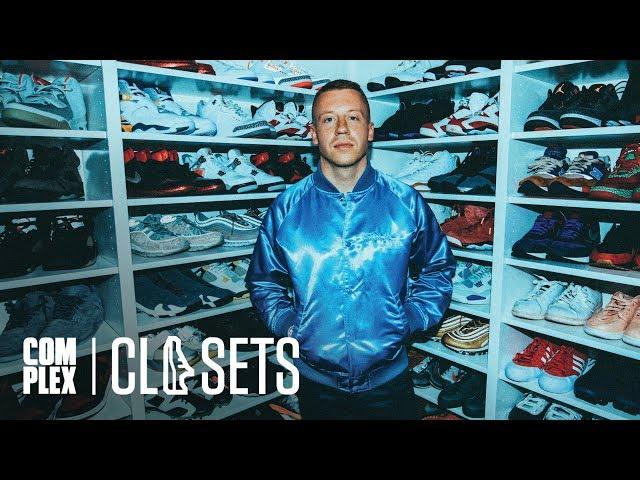 8ffa5d609336ef Macklemore Shows Off His Epic Sneaker Closet