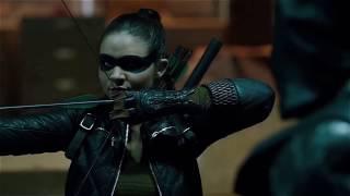 Стрела против Прометея в сериале
