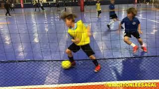 8 Year Old Brighton Lee Sagal Futsal Highlights
