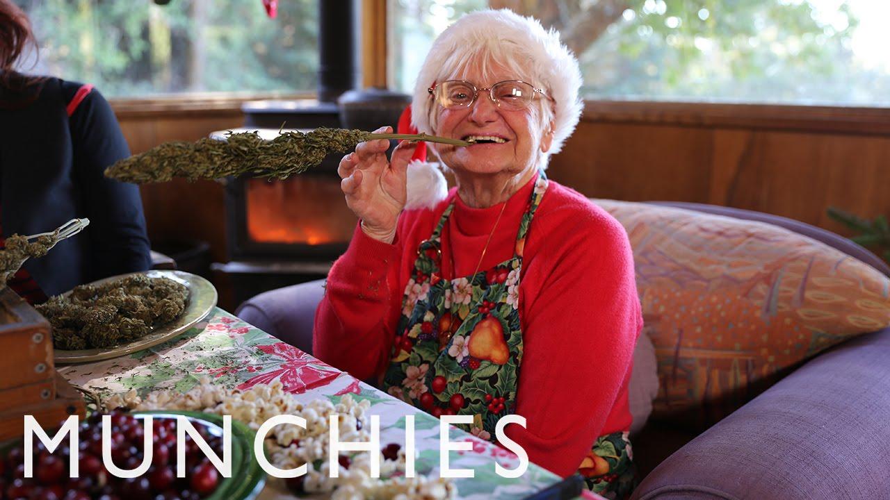 Marijuana Cookies and Christmas Egg Nug with Nonna Marijuana: BONG APPÉTIT