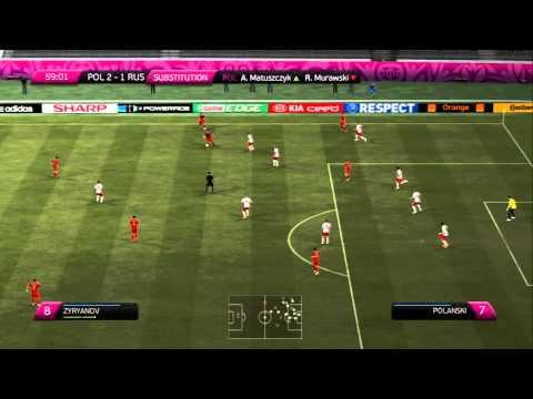 "FIFA 12 (UEFA Euro 2012): 12.06 - Симуляция матча ""Польша - Россия"""