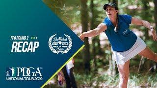 2019 Ed Headrick Disc Golf Hall of Fame Classic: FPO Round 2 Recap